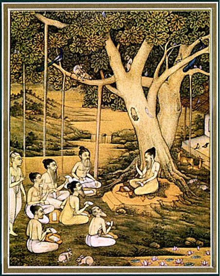 Sages at Naimisharanya.